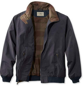 L.L. Bean Warm-Up Jacket, Flannel-Lined