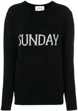Alberta Ferretti Sunday embroidered sweater