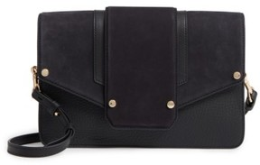 Mackage Effy Convertible Leather Clutch - Black