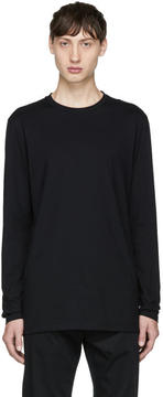 Helmut Lang Black Long Sleeve Standard Fit T-Shirt