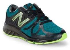 New Balance Boy's Electric Rainbow Lace-Up Sneakers