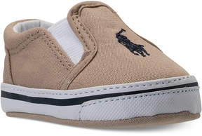 Polo Ralph Lauren Baby Boys' Balmount Layette Casual Crib Sneakers from Finish Line