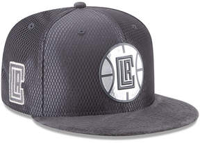 New Era Los Angeles Clippers On-Court Graphite Collection 9FIFTY Snapback Cap