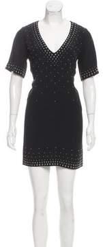Barbara Bui Studded Mini Dress