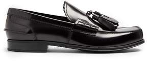 Prada Tassel-embellished leather loafers
