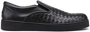 Bottega Veneta Black Nappa Sneakers