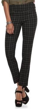 Candies Candie's Juniors' Candie's® Plaid Skinny Dress Pants