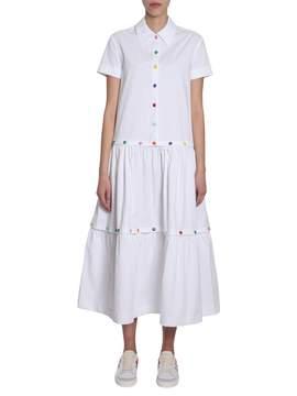 Mira Mikati Cotton Poplin Dress