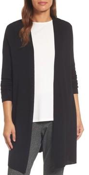 Eileen Fisher Women's Long Merino Wool Cardigan