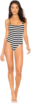 Blue Life Buckled Overall One Piece