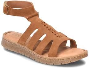 Børn Laporta Leather Ankle Wrap Sandal