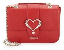 Love Moschino Chain Heart Shoulder Bag