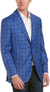 David Donahue Connor Classic Fit Wool Sportcoat