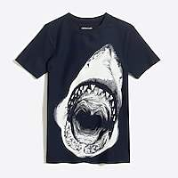 J.Crew Factory Boys' short-sleeve shark rash guard