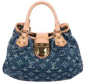 Louis Vuitton Monogram Denim Pleaty Bag