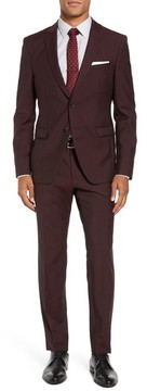 BOSS Men's Reymond/wenten Trim Fit Solid Wool & Mohair Suit
