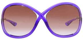 Tom Ford FT0009 Whitney Butterfly Sunglasses, 64mm