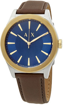 Armani Exchange Nico Blue Dial Men's Watch