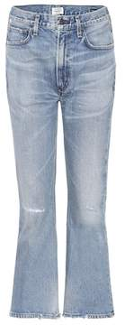 Citizens of Humanity Estella high-waisted cropped jeans