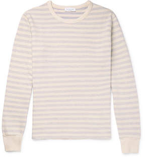 Richard James Striped Loopback Cotton-Jersey Sweatshirt