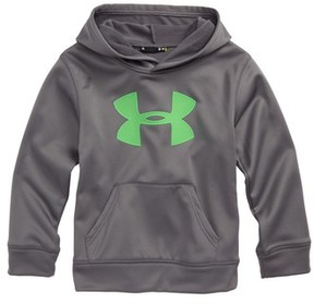 Under Armour Boy's Mesh Big Logo Pullover Hoodie