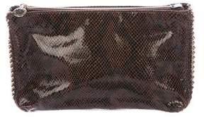 Stella McCartney Embossed Vegan Leather Clutch