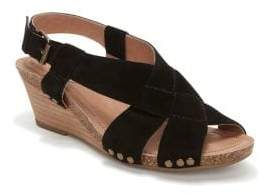 Me Too Tarin Suede Wedge Sandals