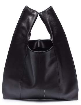 Kara Mini leather shopper bag