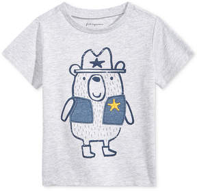First Impressions Bear-Graphic T-Shirt, Baby Boys (0-24 months), Created for Macy's