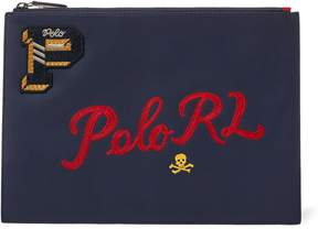 Ralph Lauren Collegiate Leather Pouch