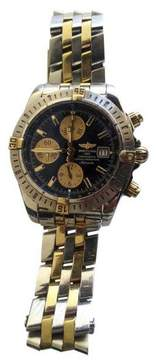 Breitling B13356 Chronomat Stainless Steel & 18K Yellow Gold Mens Watch