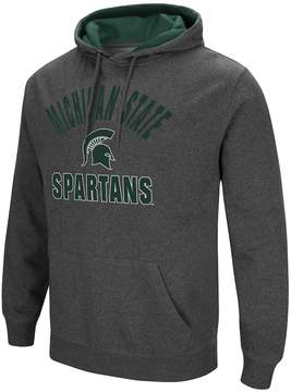 Colosseum Men's Campus Heritage Michigan State Spartans Pullover Hoodie