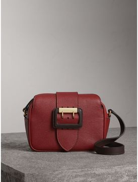 Burberry The Small Buckle Crossbody Bag in Two-tone Leather