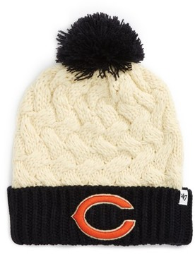 '47 Women's Matterhorn Chicago Bears Beanie - White