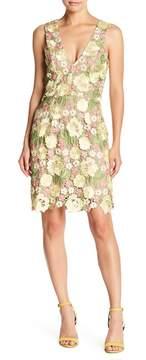 Dress the Population Mina Floral Crochet Lace Dress