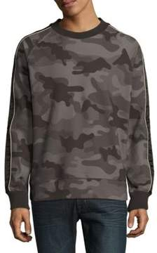 Standard Issue NYC Camo-Print Cotton Sweatshirt