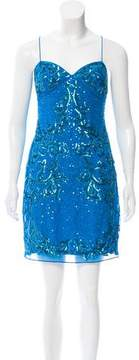 Aidan Mattox Sleeveless Sequin Dress w/ Tags