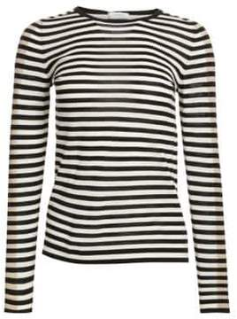 Akris Punto Elements Tricolor Striped Knit