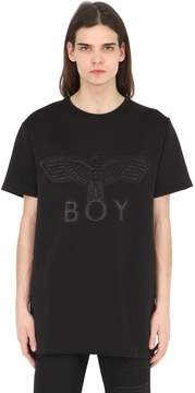 Boy London Boy Eagle Neoprene Patch T-Shirt