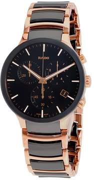 Rado Centrix Chronograph Black Dial Men's Watch