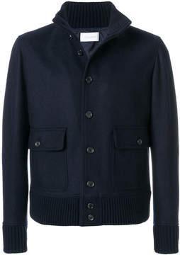 Cruciani button up military jacket