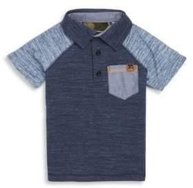 Joe's Jeans Little Boy's Ian Raglan Cotton Polo