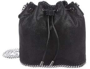 Stella McCartney Shaggy Deer Falabella Quilted Bucket Bag