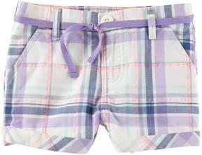 Osh Kosh Oshkosh Bgosh Toddler Girl Plaid Bubble Shorts