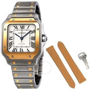 Cartier Santos Steel and 18K Yellow Gold Automatic Men's Medium Watch