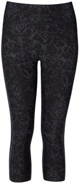 Sweaty Betty Zero Gravity Leggings in Black Metal Print, X-Small