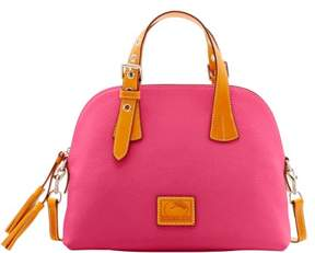 Dooney & Bourke Patterson Leather Small Audrey Top Handle Bag - HOT PINK - STYLE