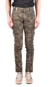 Mason Men's Green Cotton Jeans.