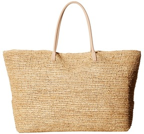 Hat Attack - Luxe Tote with Vachetta Handles Tote Handbags