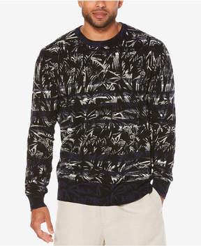 Cubavera Men's Palm Tree Sweater
